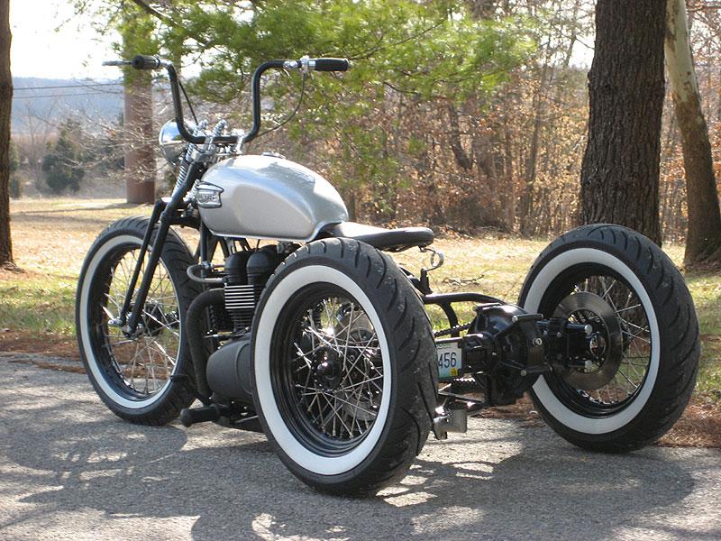 Clasic Auto Motor Mid Mo Mc Triumph Trike