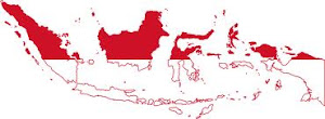 Indonesia-Flag map