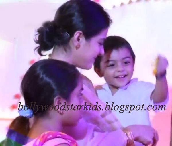 Kajol Devgan With Her Kids