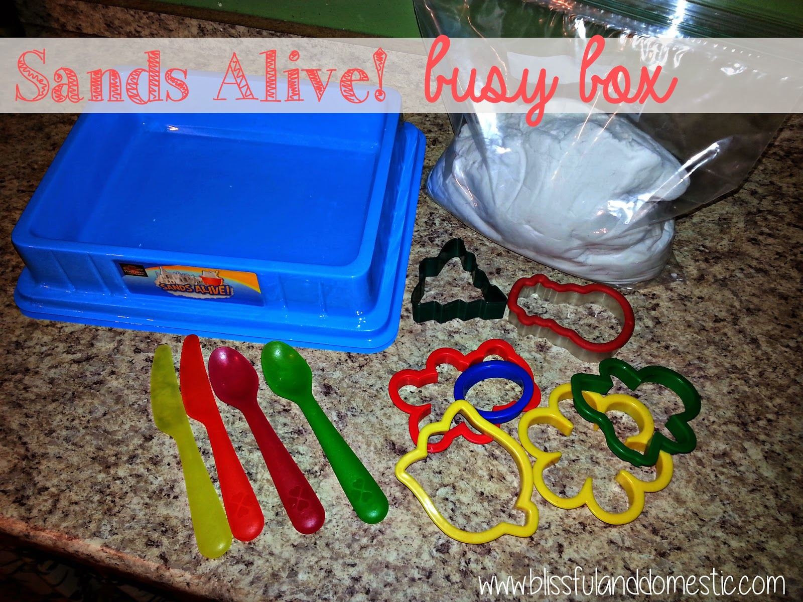 Sands Alive Busy Box