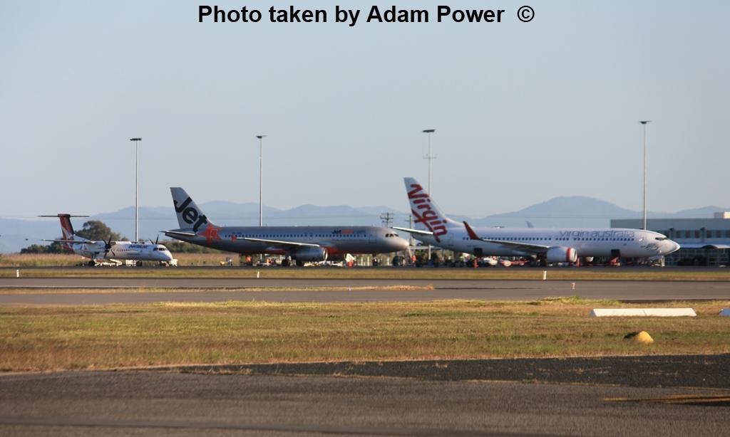 central queensland plane spotting  continued passenger
