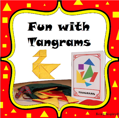 Free tangram booklet and templates!