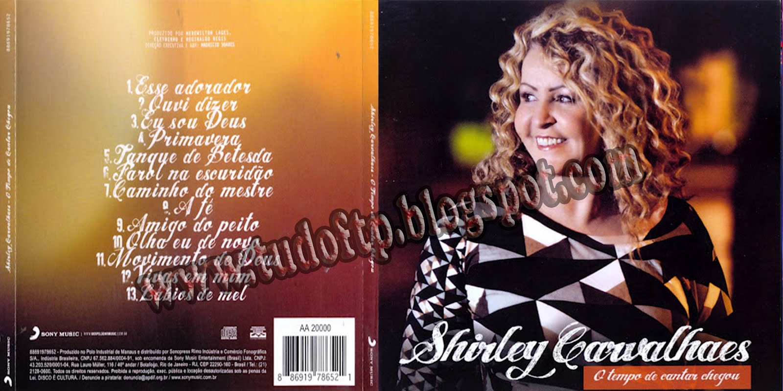 Shirley Carvalhaes CD- O Tempo de Cantar Chegou
