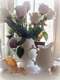 White roses....a favorite