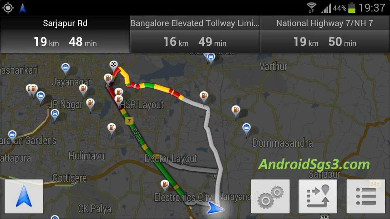 Google launch Maps Voice Navigation with Live Traffic in INDIA
