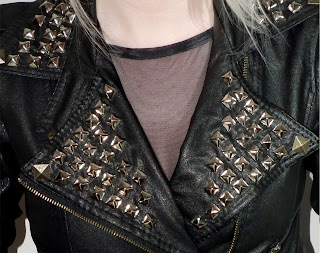 Sammi Jackson DIY STUDDED JACKET