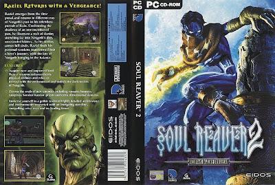 Legacy of Kain Soul Reaver 2 PC DVD Capa