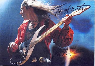 Uli Jon Roth -Μετά τους Scorpions , έφτιαξε  τους  Electric Sun  και τελευταία  τους Sky Of Avalon: