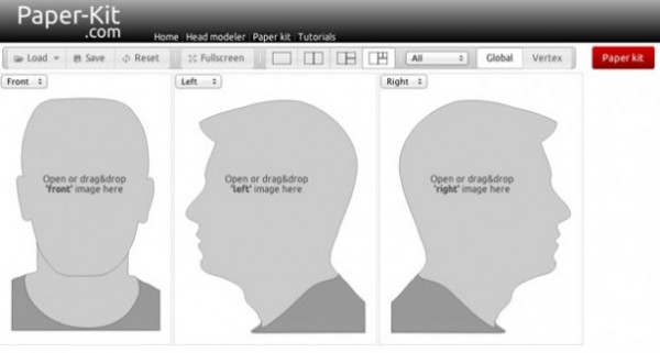 Make A 3d Paper Model Of Your Own Head