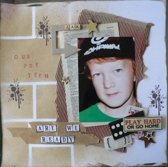 Scrapbook Kits With A Difference: April 2011preteen boys