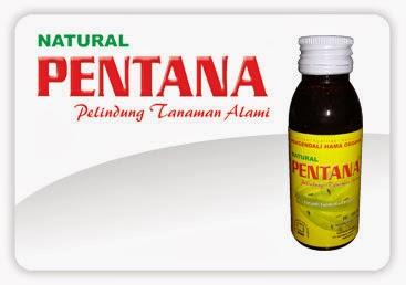 pestisida organik natural pentana