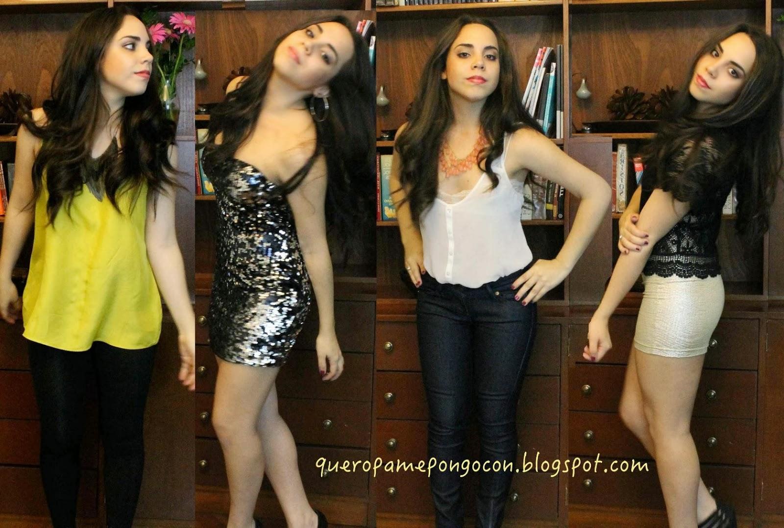 COMO ME VISTO PARA UNA FIESTA INFORMAL - Como debe vestirse una mujer - Outfit para una fiesta informal - Que ropa me pongo para ir a una discoteca