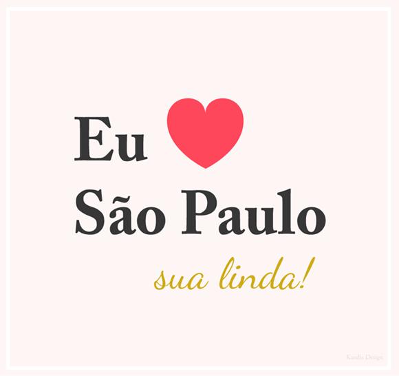Feliz aniversário São Paulo!