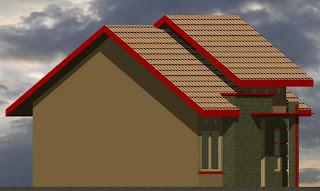 denah desain rumah minimalis