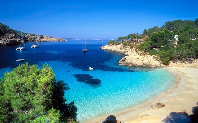 Praia Cala Salada, Ibiza