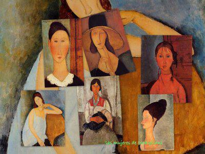 Amadeo Modigliani, Mónica López Bordón, poesía