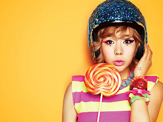 SNSD Sunny Casio Baby G Wallpaper
