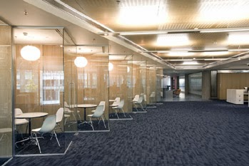 hospital and offices corridors designs