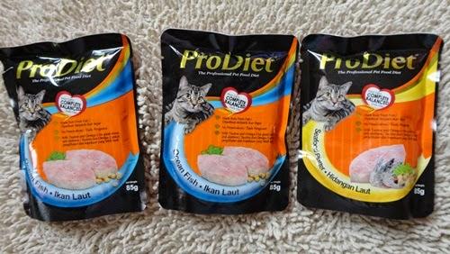ProDiet Pet Food Makanan Kucing, harga makanan kucing, Kelebihan makanan kucing ProDiet,