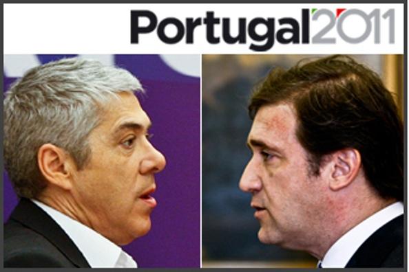 Portugal - Eleições: SONDAGENS ALINHADAS DÃO VITÓRIA AO PSD