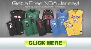 Free NBA jersey