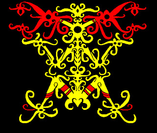 dayak ornament 2 cdr corel draw files