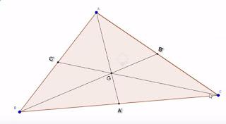 مركز ثقل مثلث