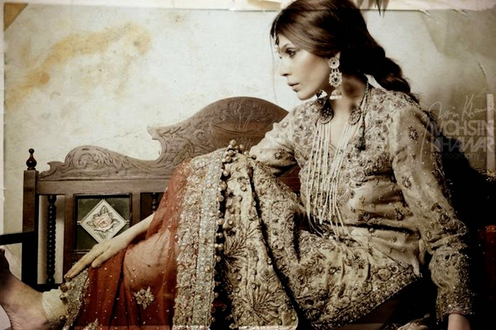 Rana Noman Signature Bridal Wear Collection 2014
