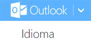 Cambiar idioma en Outlook Mail