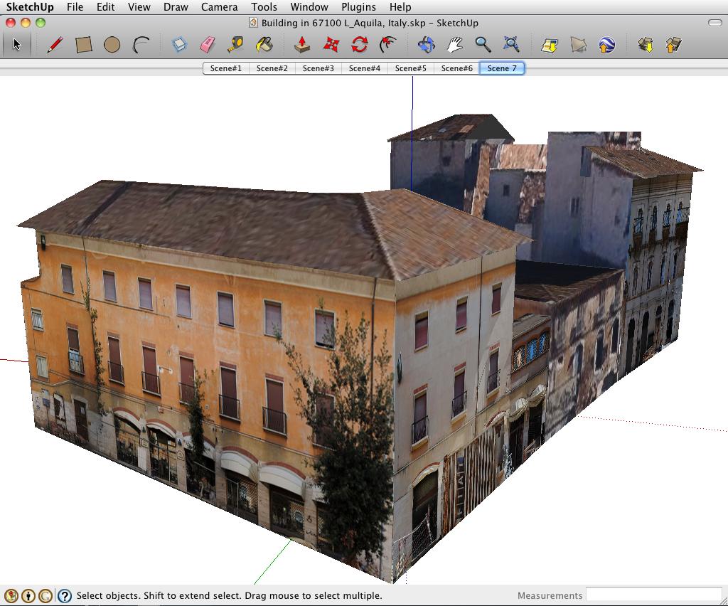 exporttocanoma building maker il modello 3d di venezia