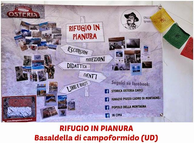 presso la STORICA OSTERIA CAVICJ di Basaldella di Campoformido (UD) piazza Umberto 1° nr.