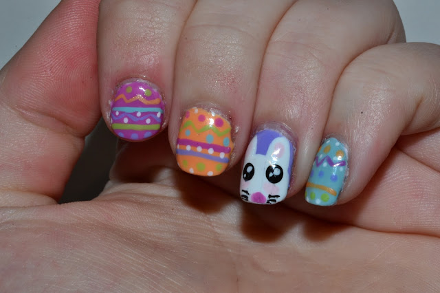 Easter Nail Art by Elins Nails