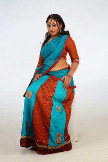 Actress Samvritha Sunil Latest  Pictures in Indian Half Saree  0023