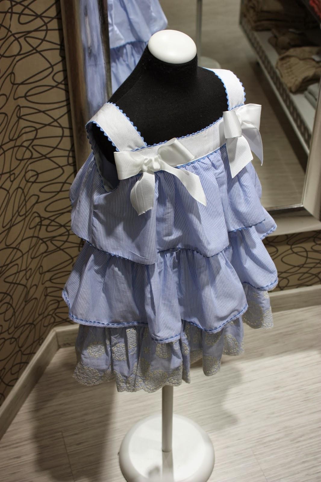 Vestido azul da lomba larga - 2 part 5