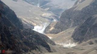 foto Gunung Kelud saat ini