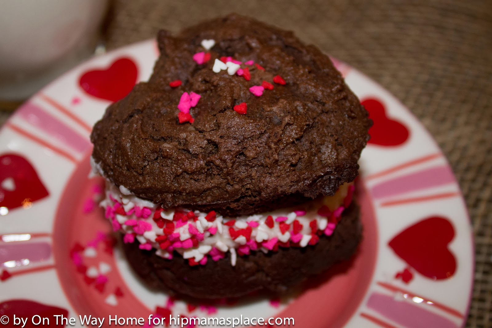 Chocolate Whoopie Pies With Cake Mix