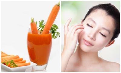 thực phẩm chống lão hóa da tốt nhất từ cà rốt
