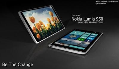 Konsep Nokia Lumia 950 Atlantis, Mengesankan - Berita Handphone