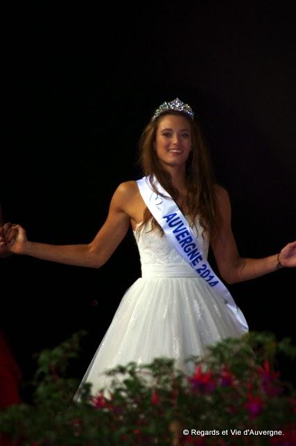 Morgane Laporte, Miss Auvergne 2014.