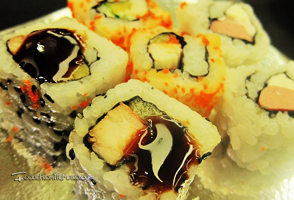 Foodie from the Metro - Japanese Food Sushi