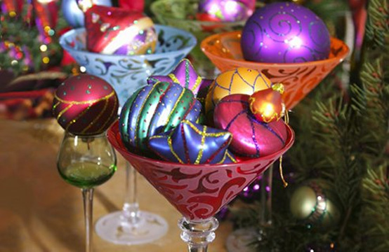 Creative Christmas table decorating picture 12