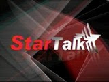 Startalk is a top-rating showbiz-oriented television talk show in the Philippines aired every Saturday afternoons by GMA Network and simulcast over Super Radyo DZBB. — ALTERNATIVE VIDEO —