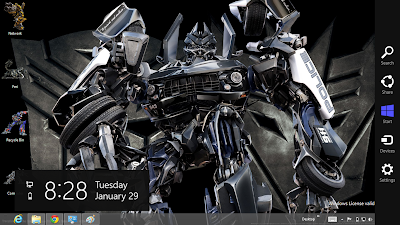 Transformers Prime Theme For Windows 8