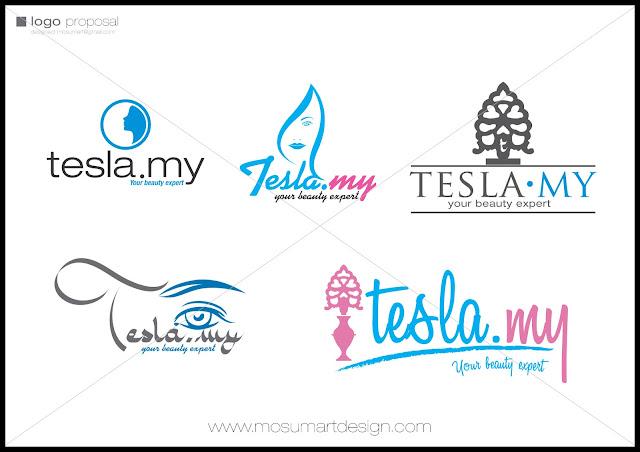 design logo syarikat tesla.my