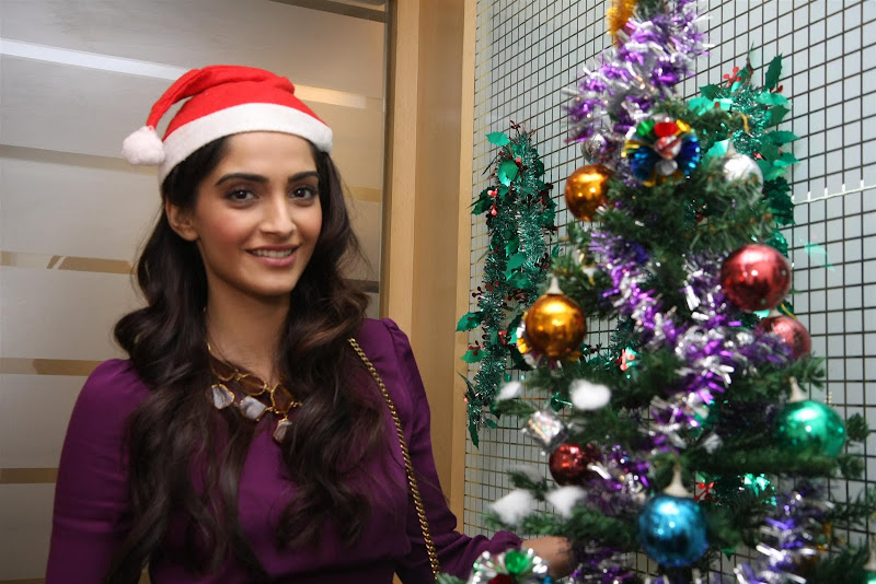 Sonam Kapoor Photoshoot for Christmas Event wallpapers