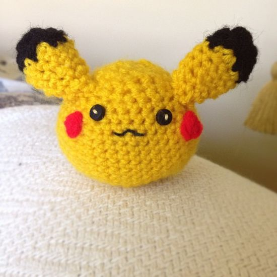 Crochet Pikachu