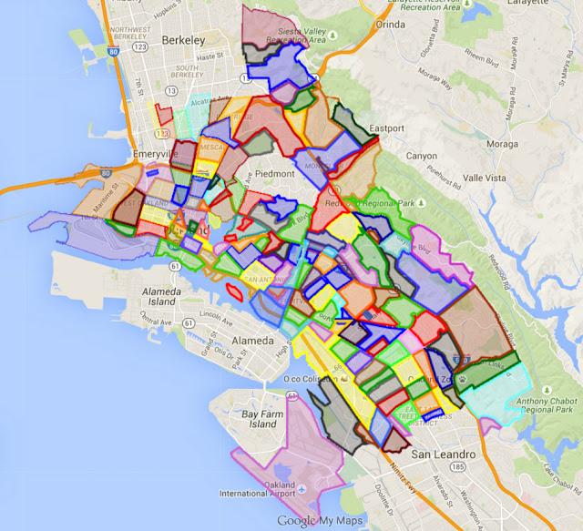 Our Oakland Oakland Neighborhoods Map V21