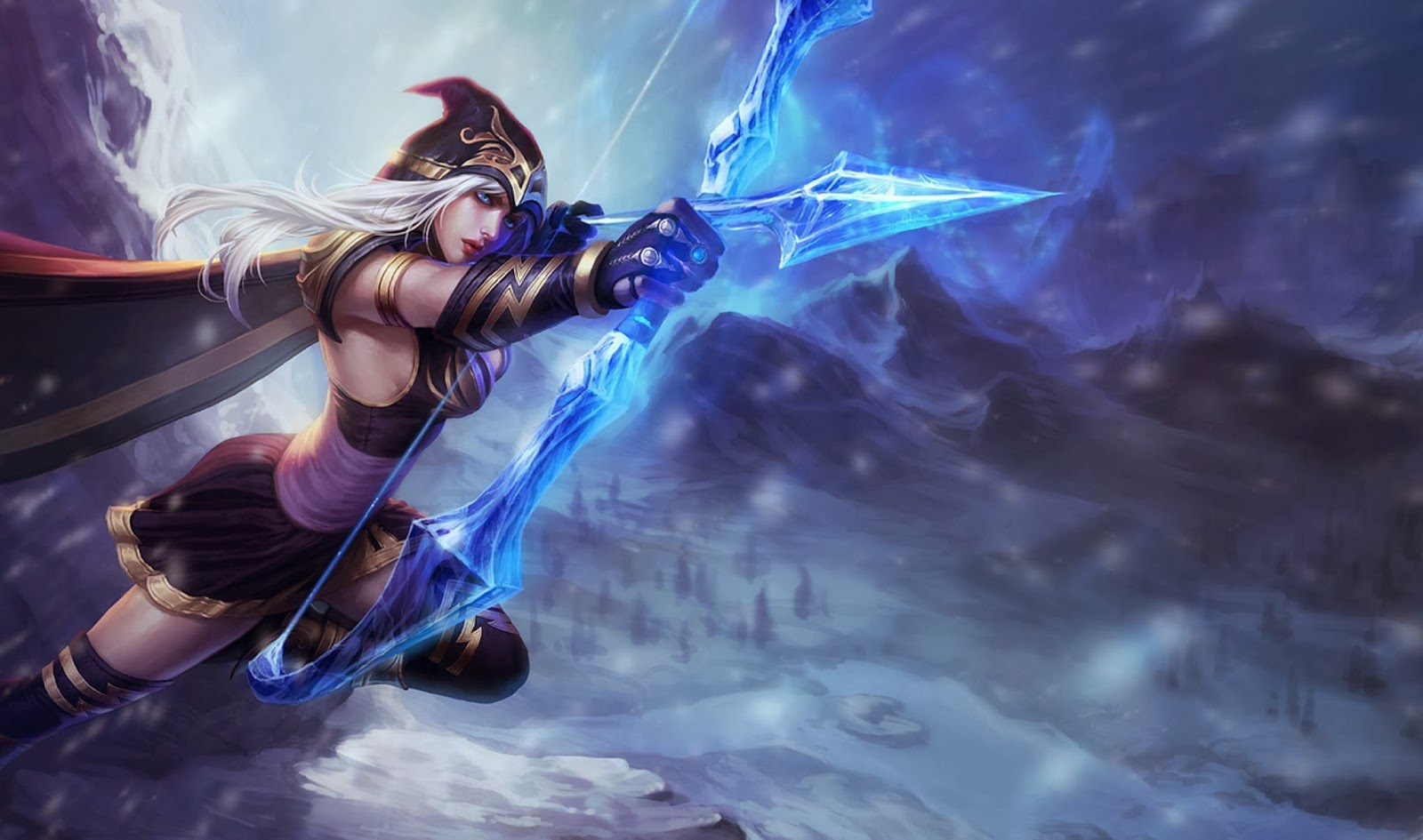 Ashe League of Legends Wallpaper-full-HD