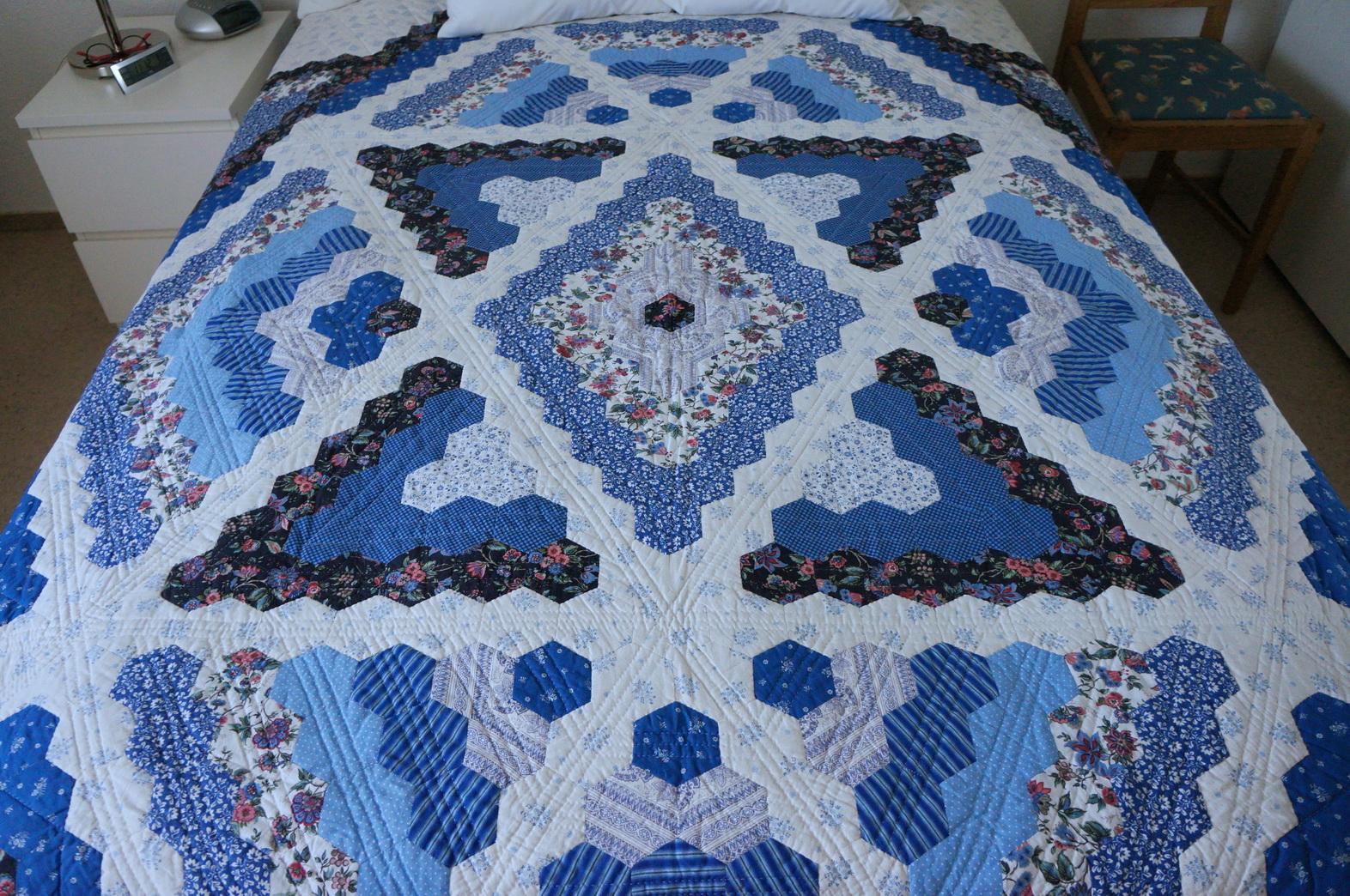 Meine quilts und ich english paper piecing i love it for Schrank quillt auf