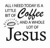 Like my coffee...